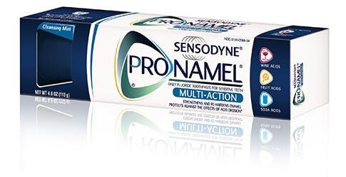 Pasta de dientes ProNamel Multi Action