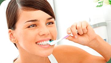 Hampaiden vihlonnan hoito