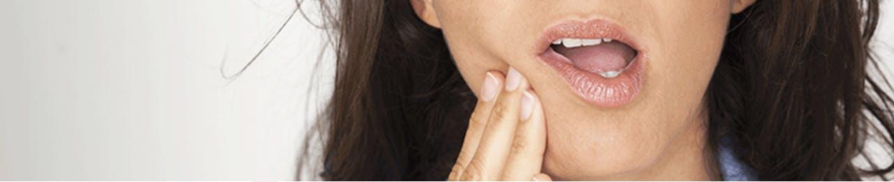 Symptômes de la sensibilité dentaire