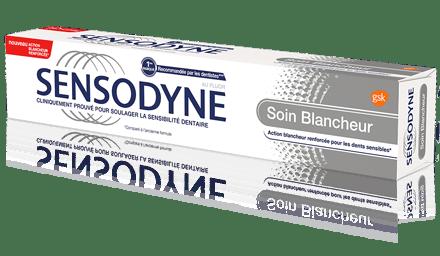 Sensodyne Soin Blancheur pour soulager la sensibilité dentaire et retrouver la blancheur naturelle de vos dents