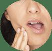 A fogérzékenység tünetei