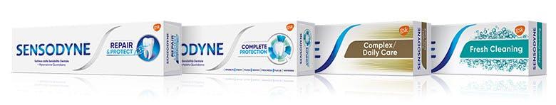 """""""Lavoriamo per aiutare i consumatori ad alleviare i sintomi fastidiosi della sensibilità dentale con prodotti specifici """""""