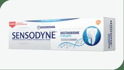 Sensodyne® тіс пастасы. Қалпына келтіру және Қорғау