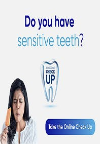 gráfico diente con texto the online check up