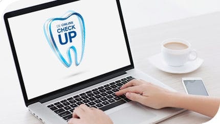 Doe de Sensodyne Online Check Up