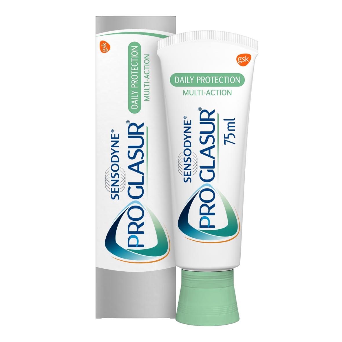 Proglasur is klinisch bewezen de sterkte van het tandglazuur te kunnen herstellen. Bescherming tegen de effecten van dagelijkse zuren