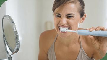 Gevoelige tanden verlichten