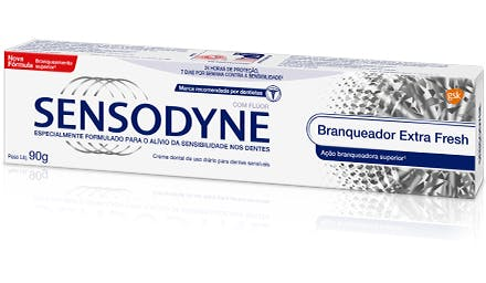 Sensodyne | Creme dental Branqueador Extra Fresh