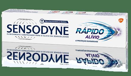 Sensodyne®    Creme dental Rápido Alívio