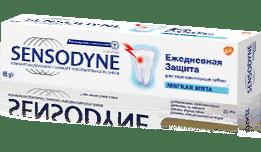Зубная паста Sensodyne   Ежедневная Защита Мягкая Мята
