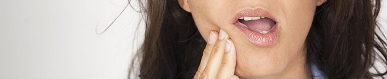 Symptómy citlivých zubov