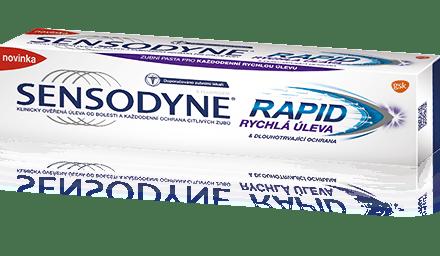Sensodyne  Zubní pasta Rapide