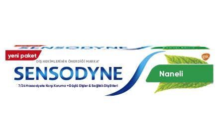 Sensodyne® 7/24 Koruma* Naneli