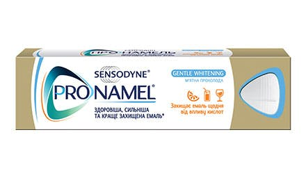 Pronamel is specially formulated to protect against the effects of acid erosion