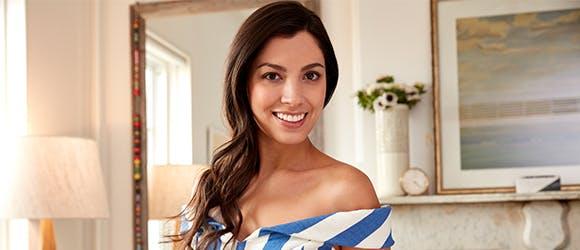 confident smiling woman