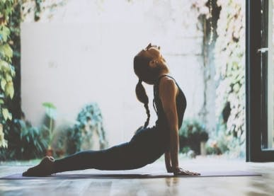 Center Yourself With This Yoga Routine
