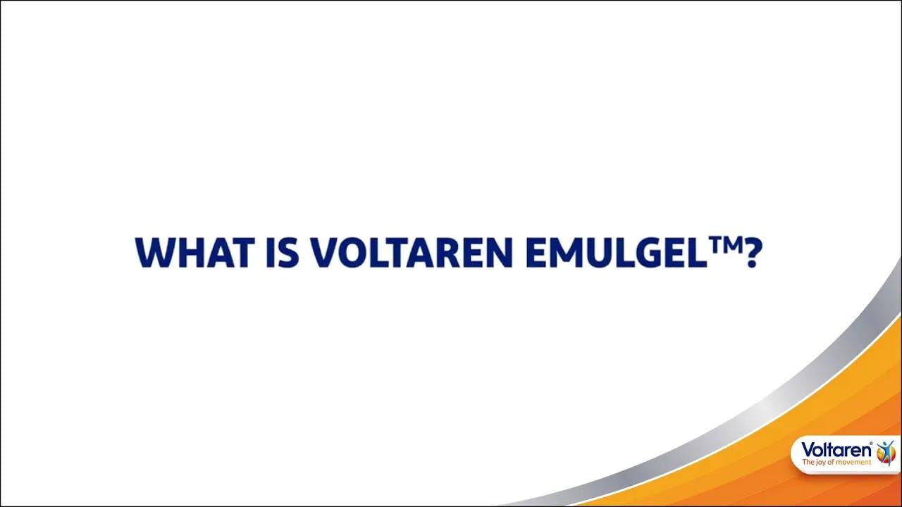What Is Voltaren Emulgel™?   Voltaren
