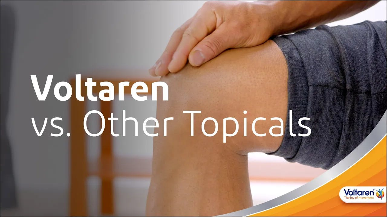 How Voltaren Differs from Other Topicals