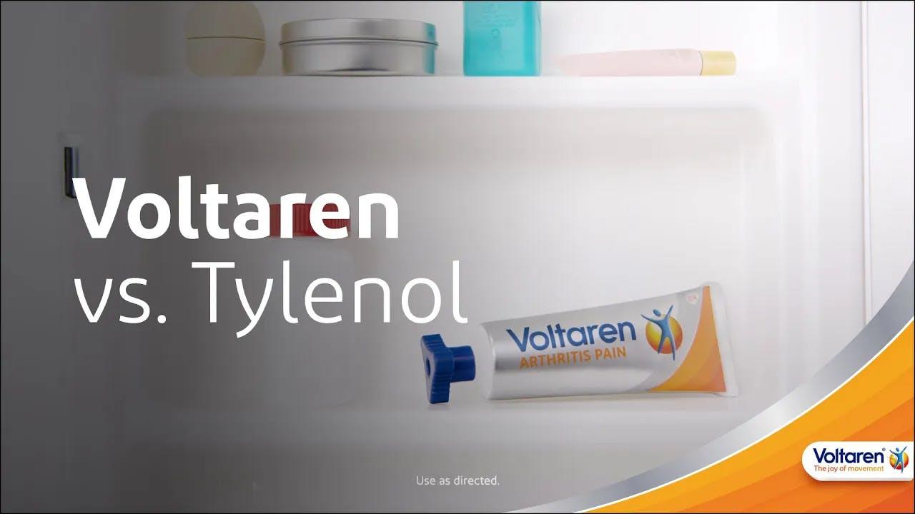 How Voltaren Differs from Tylenol