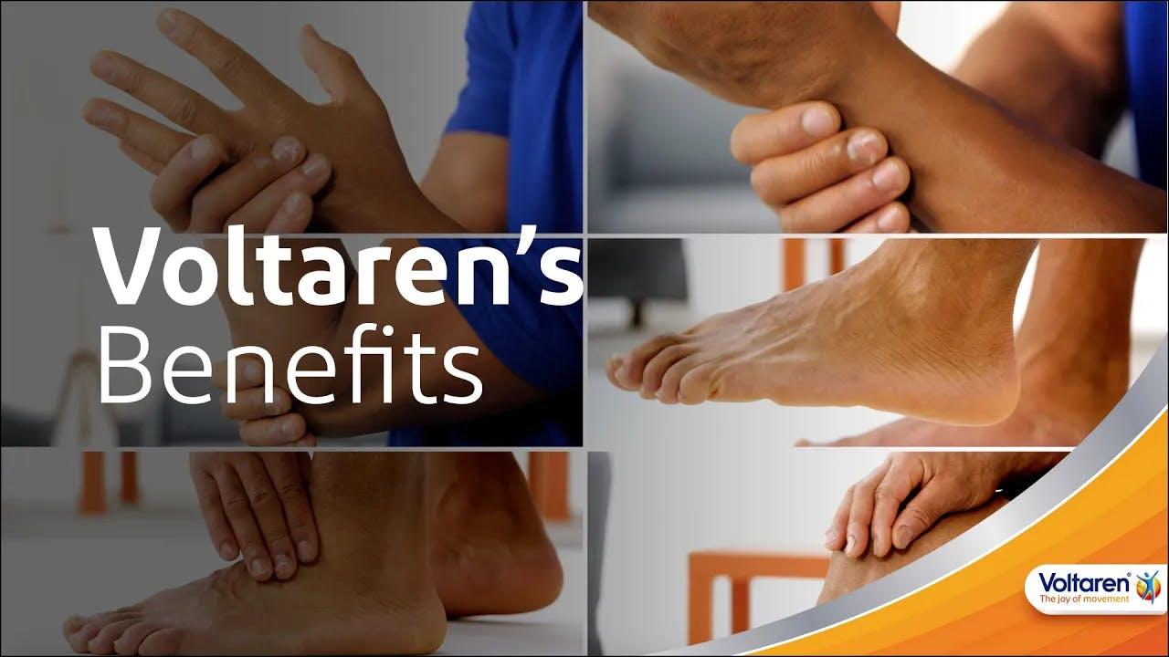 Voltaren Benefits