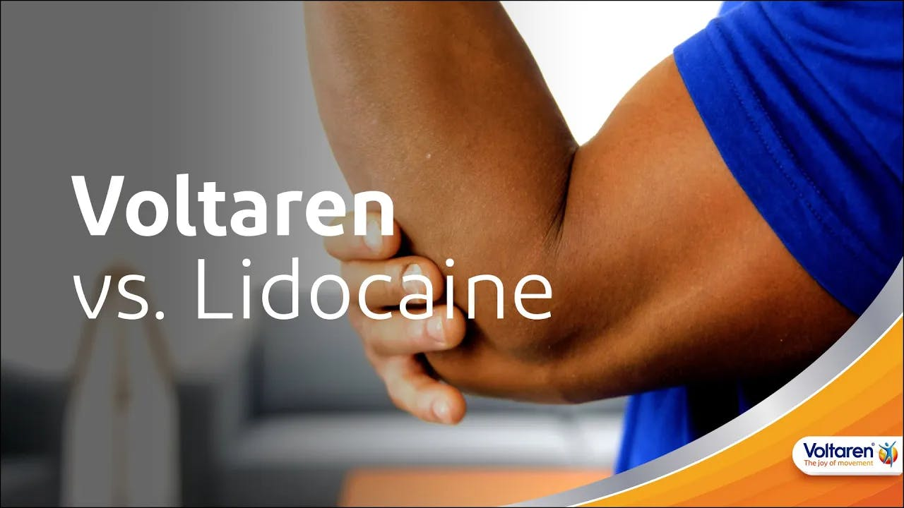 How Voltaren Differs from Lidocaine Products