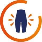 Hip pain icon