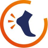 Pain in heel icon