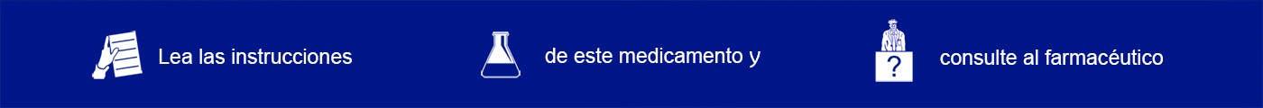 Consejos sobre el medicamento. Imagen pie