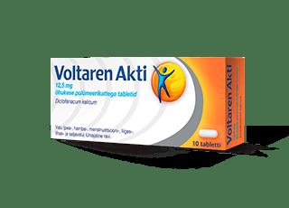 Препарат Voltaren таблетки