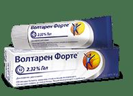 Волтарен Форте гел продукт