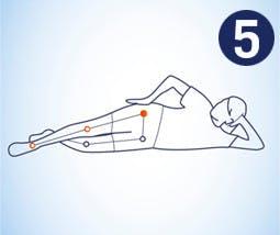 Realizar estiramiento de la cadera