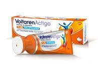 VoltarenActigo 1% Gel Tube applicateur