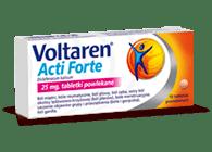 Opakowanie Voltaren Acti Forte w tabletkach