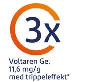 Voltaren gel 23,2 och 11,6 för utvärtes bruk.
