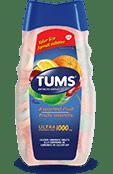 TUMS Ultra-fort, fruits assortis, flacon de 160 comprimés
