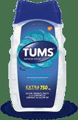 TUMS Extra-fort, menthe, flacon de 100 comprimés