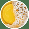 Gros plan de bière