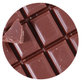 Close up of pieces of chocolate