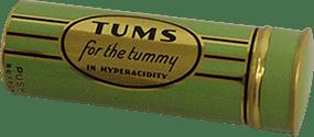 Original Green TUMS roll