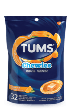Bag of Tums® Orange Rush Chewies