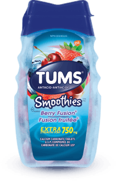 Flacon de Tums® Smoothies Fusion fruitée - 60