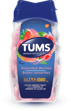 Flacon de Tums® Ultra-fort Baies assorties - 72