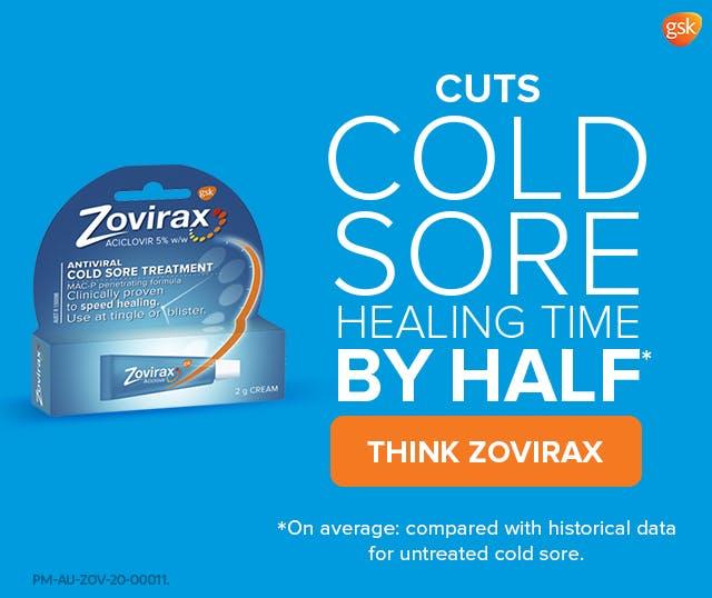 Zovirax woman