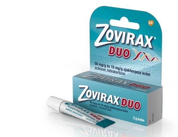 Zovirax duo ajakherpesz krém