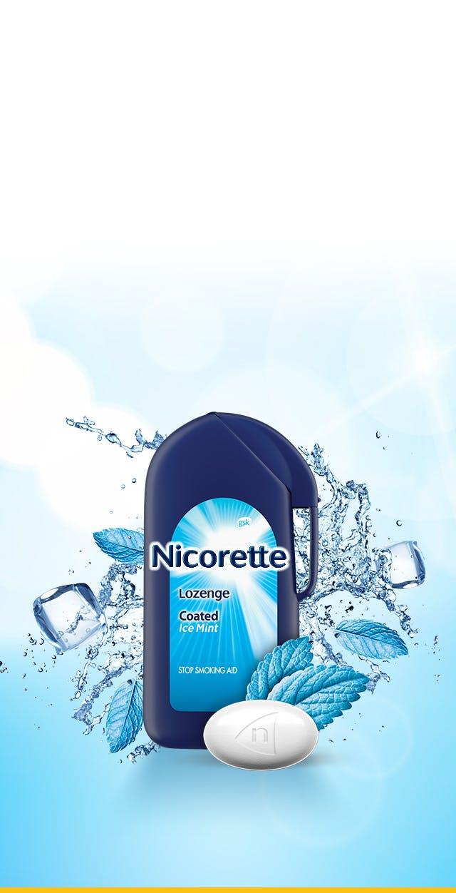 Nicorette Lozenge Stop Smoking Aid