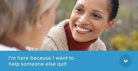 Help Someone Else Quit Smoking