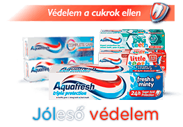 Aquafresh sugar acid protection toothpaste products