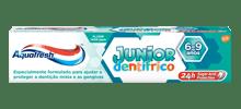 A minha pasta dentífrica Júnior