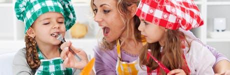 В кухнята на силната, уверената и грижовна майка