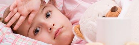 Как да различим симптомите на настинка и на грип при детето